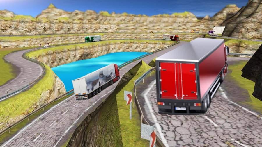 运输 卡车 英雄 司机 高速公路重 卡車 司機 模擬器截图5