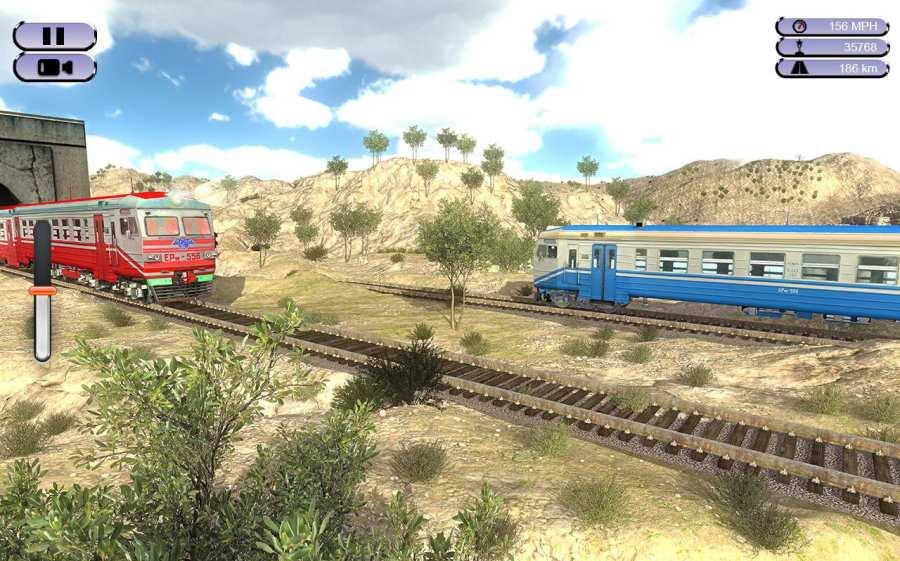 印度火车赛车模拟器2017截图1