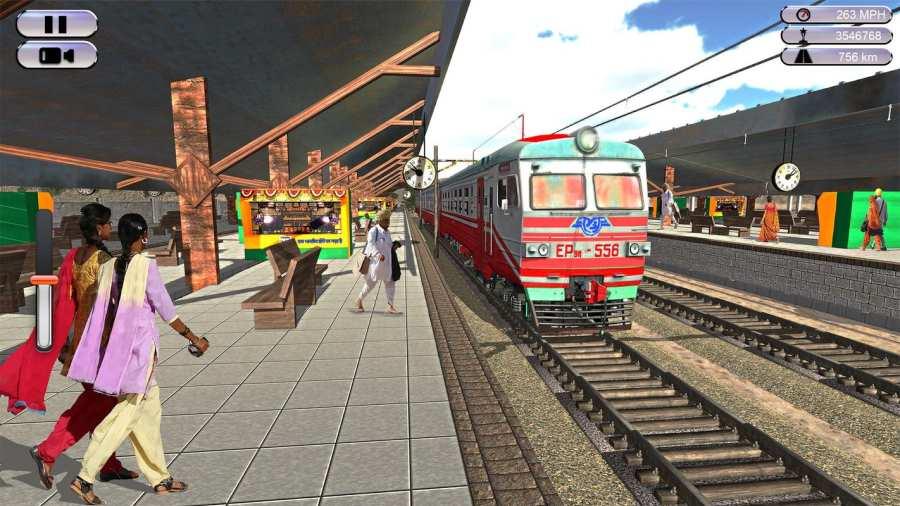 印度火车赛车模拟器2017截图8