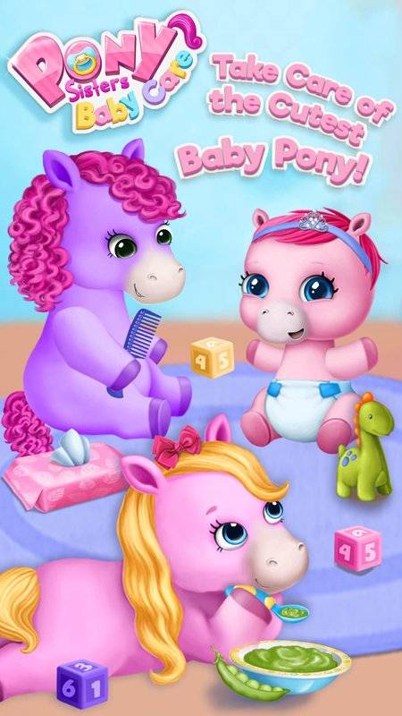 Pony Sisters Baby Horse Care截图5