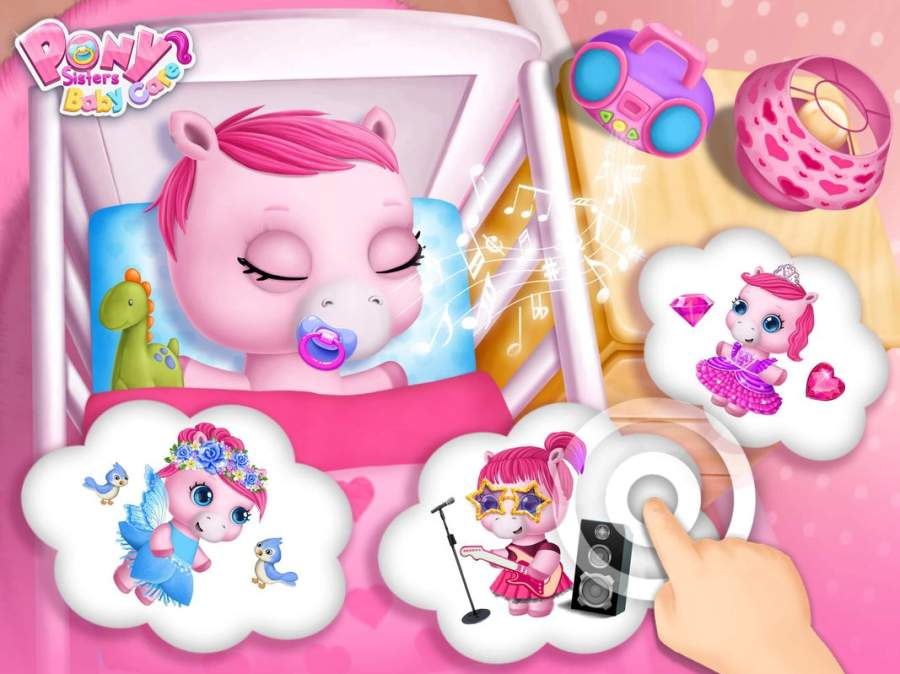 Pony Sisters Baby Horse Care截图7