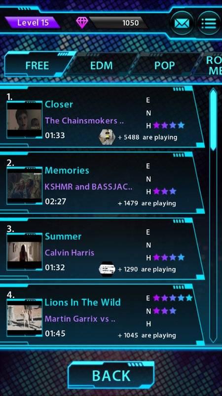 Tap Tap Reborn 2: Popular Songs截图7