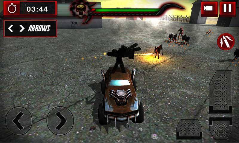 僵尸加速器: 装甲卡车