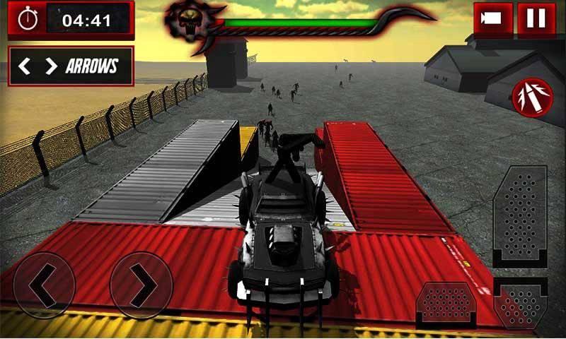 僵尸加速器: 装甲卡车截图2
