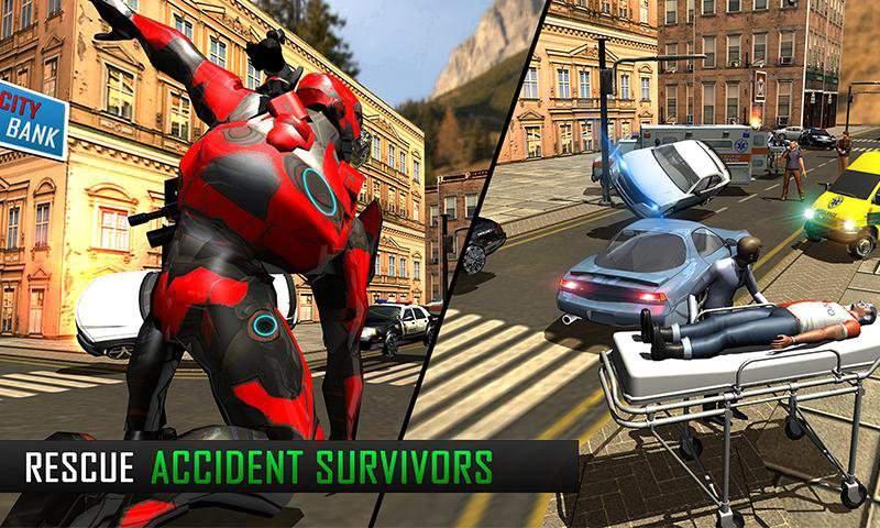 飞行机器人大市救援