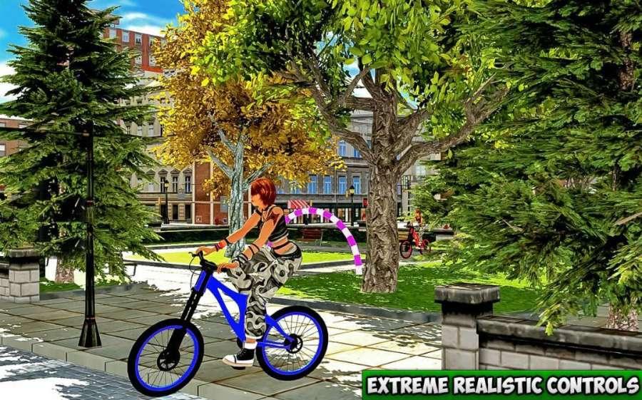 BMX 自行车 特技 骑士 游戏