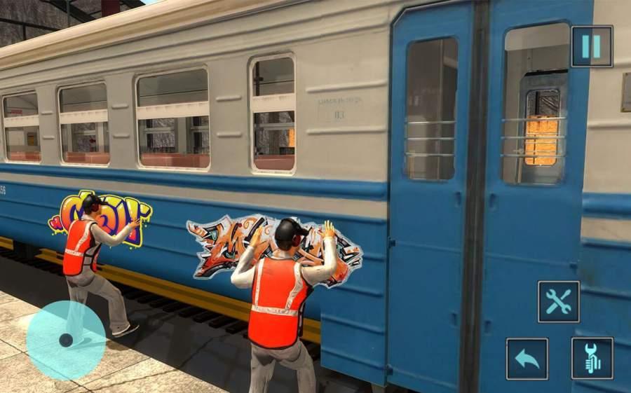 火车机械车间车库截图0