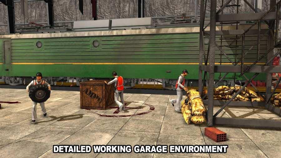 火车机械车间车库截图2