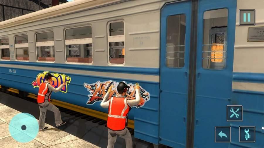火车机械车间车库截图3
