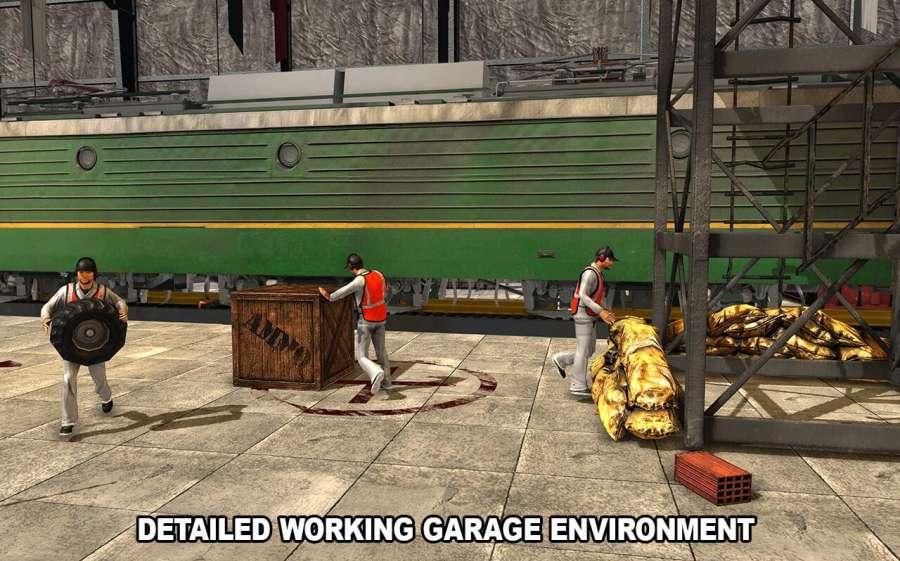火车机械车间车库截图4