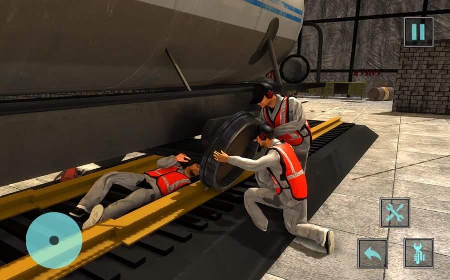 火车机械车间车库截图8