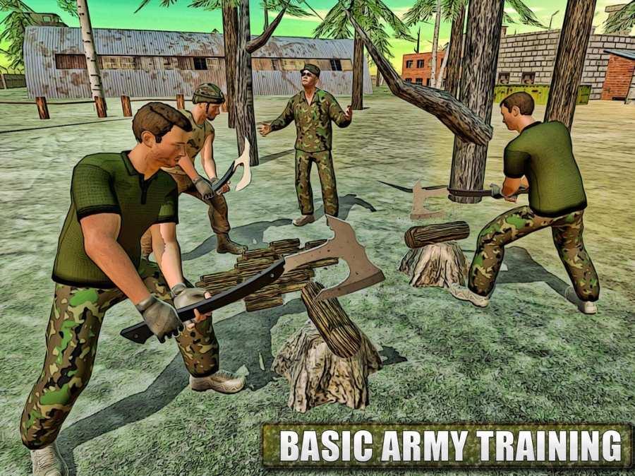 美军陆军训练战3D