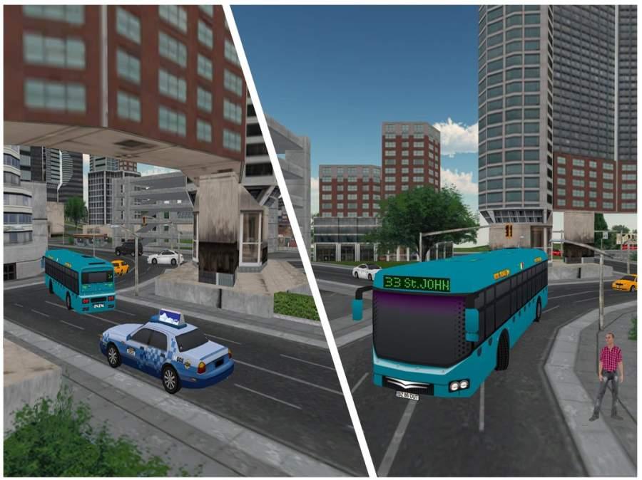 New York City Coach Bus Sim截图1
