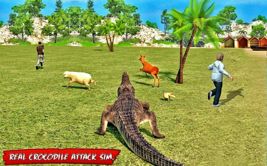 海滩 鳄鱼 攻击截图2