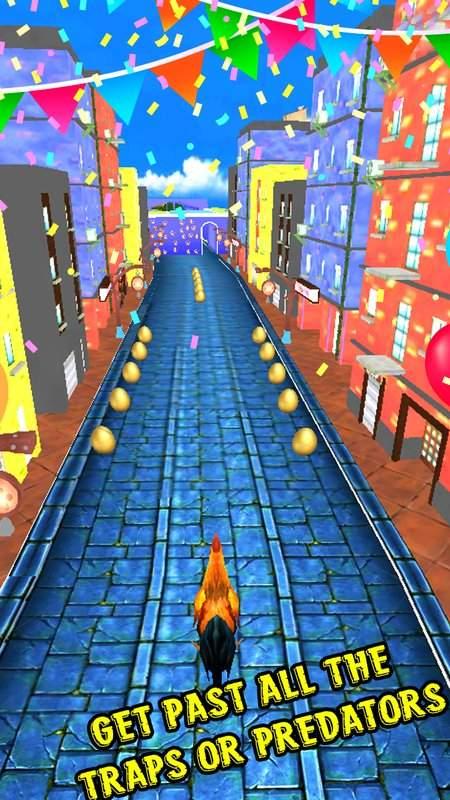 愤怒的公鸡跑地铁