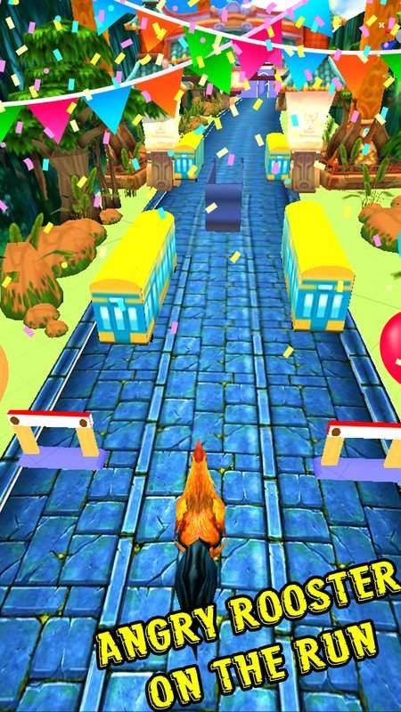 愤怒的公鸡跑地铁截图3