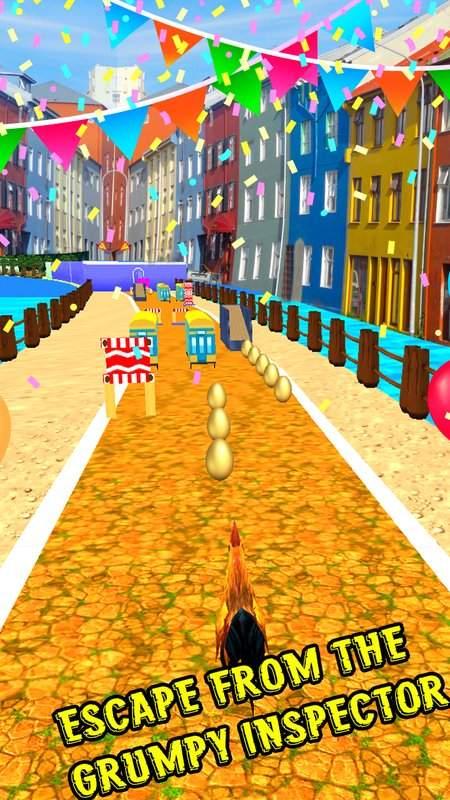 愤怒的公鸡跑地铁截图5