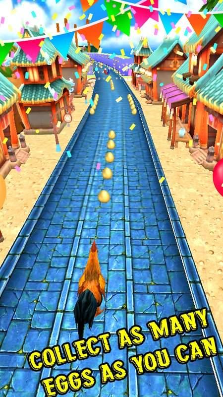 愤怒的公鸡跑地铁截图6