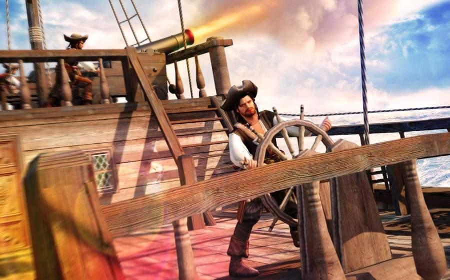 加勒比海盗海军射击战