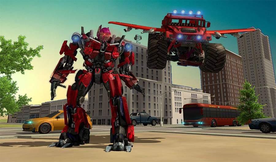 飞行怪物机器人变换