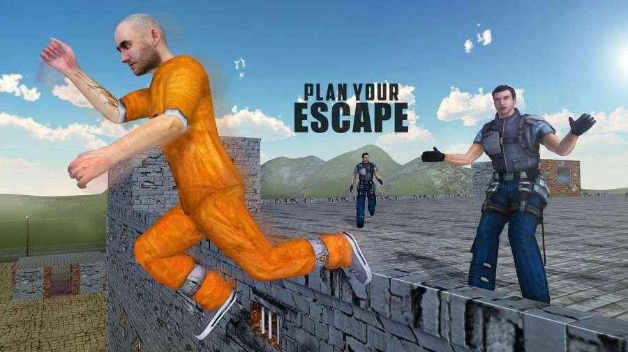 监狱逃命警察飞机3D截图1