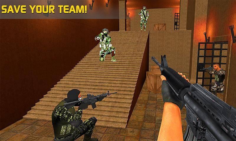 反恐特警队FPS截图1