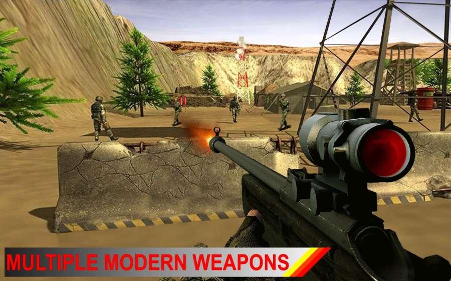 现代部队前线作战截图4