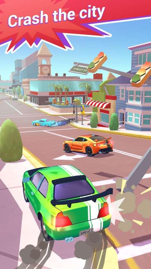 撞车俱乐部:驾驶和粉碎城市截图1