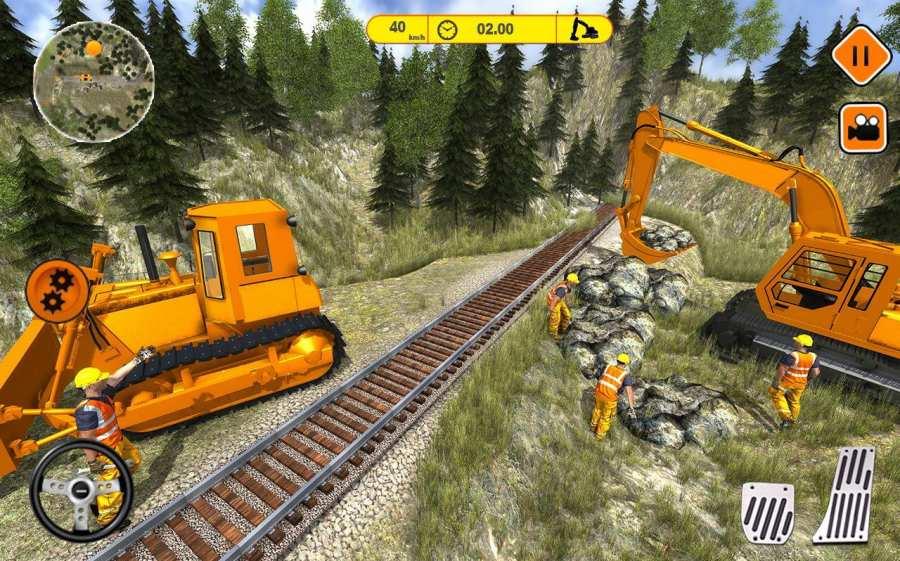 火车轨道建设2017截图6
