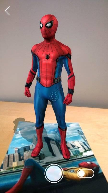 The Spider-Man: Homecoming App截图0