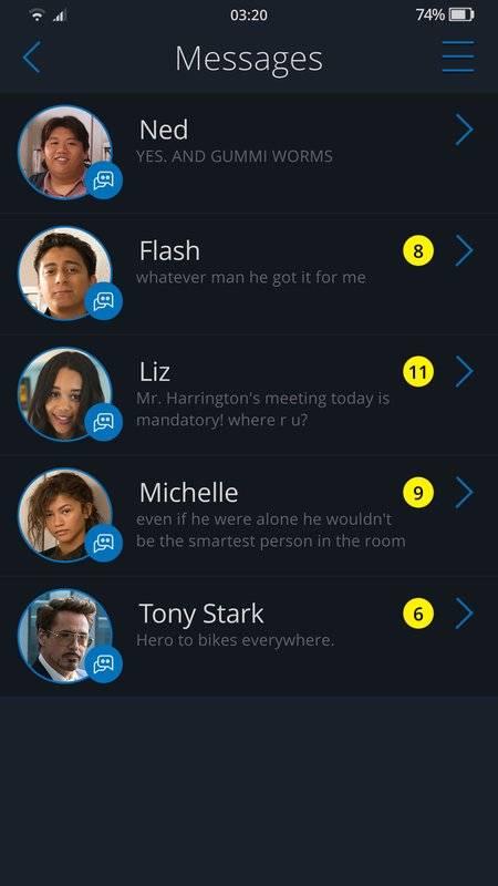 The Spider-Man: Homecoming App截图3