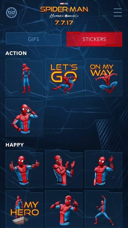 The Spider-Man: Homecoming App截图4