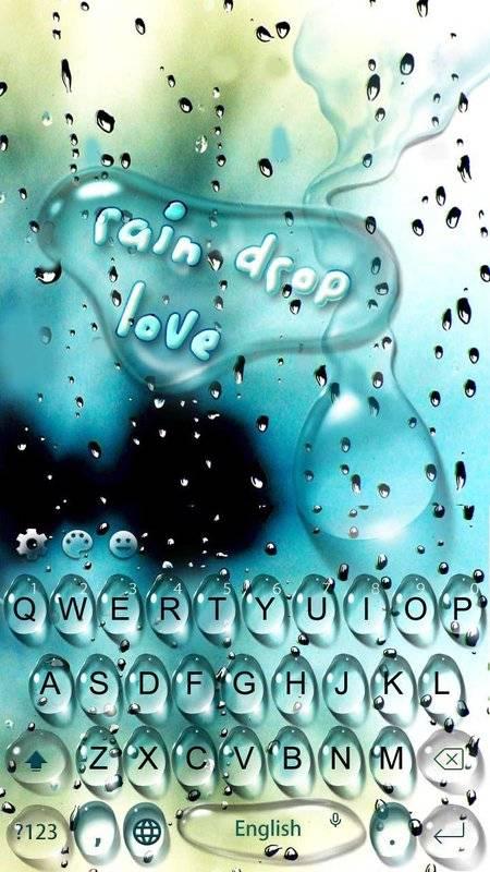 雨滴愛情鍵盤主題