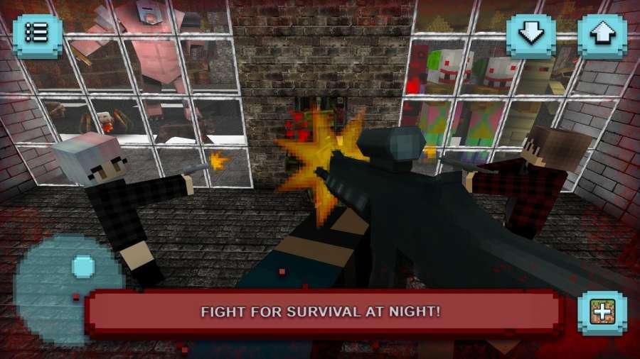 恐怖之夜:建筑与生存恐怖游戏截图1