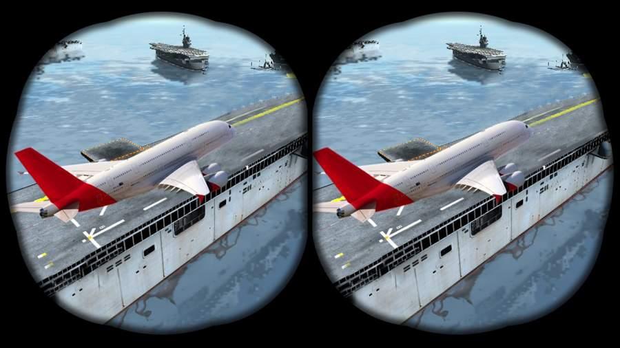 VR飞机飞行模拟器