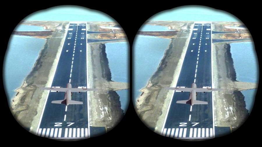 VR飞机飞行模拟器截图1