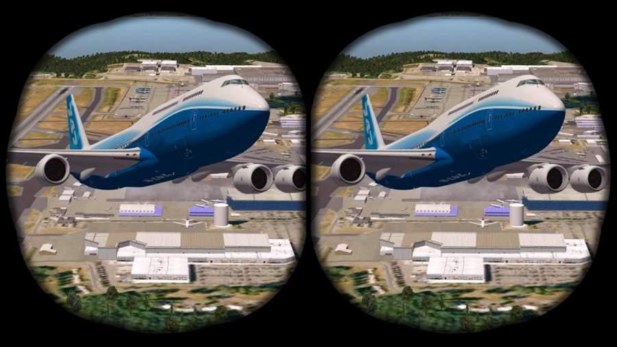 VR飞机飞行模拟器截图2