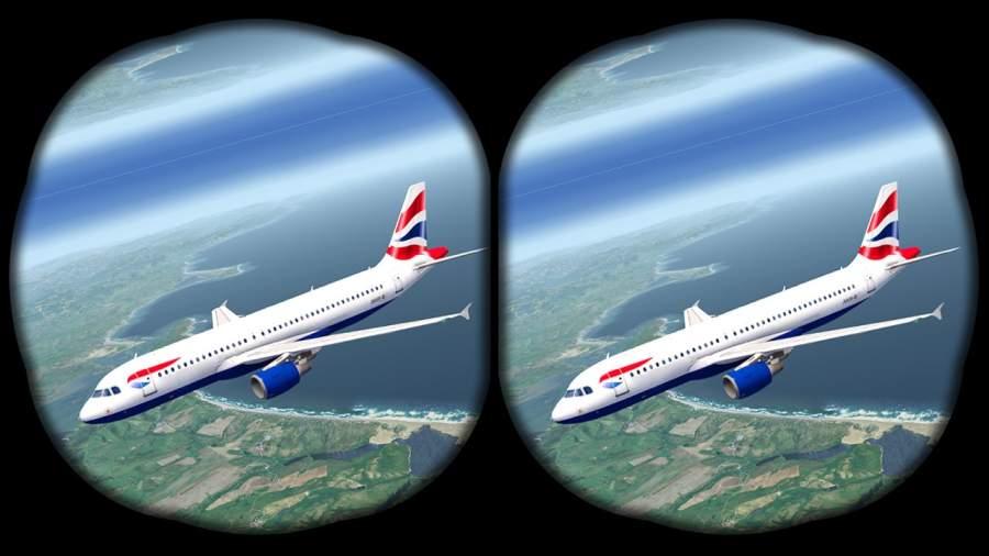 VR飞机飞行模拟器截图4