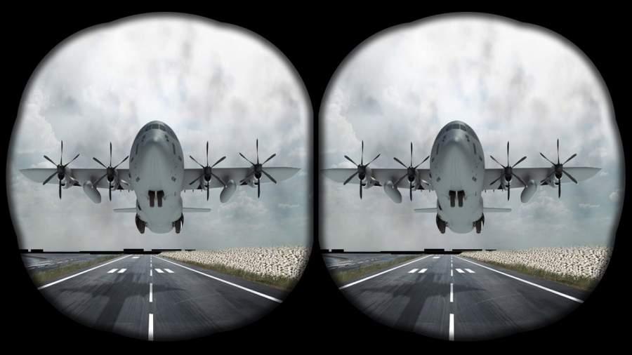 VR飞机飞行模拟器截图5