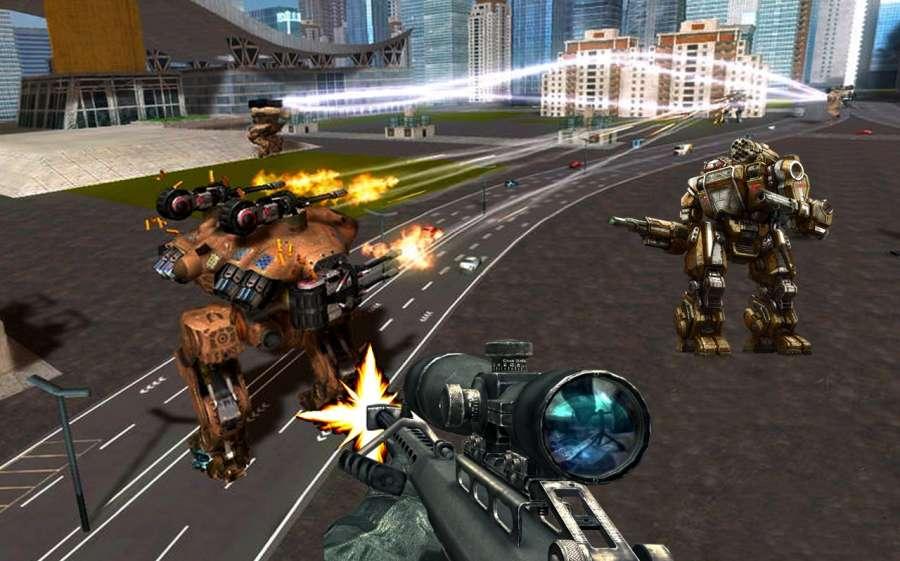 现代机器人战争