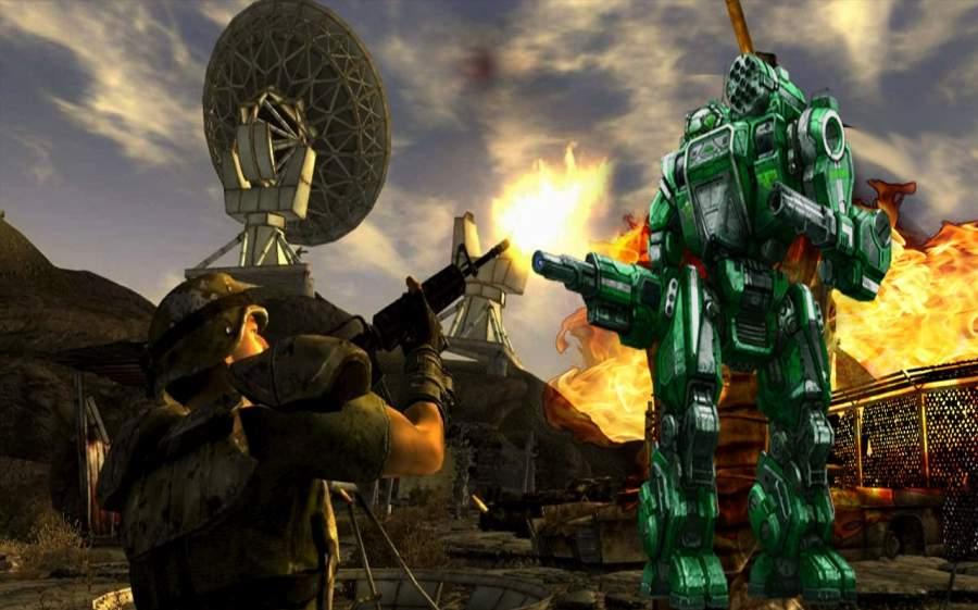 现代机器人战争截图2