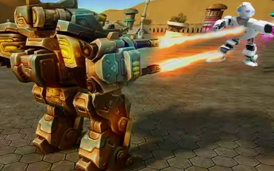 现代机器人战争截图4