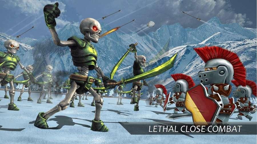 真正的战斗模拟器游戏:史诗战争策略