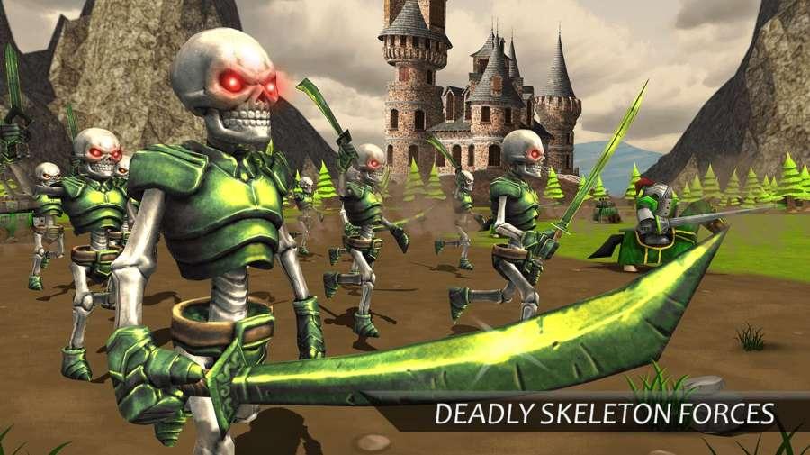 真正的战斗模拟器游戏:史诗战争策略截图2