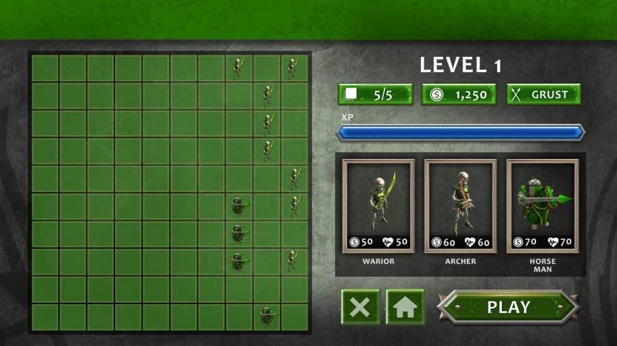 真正的战斗模拟器游戏:史诗战争策略截图4