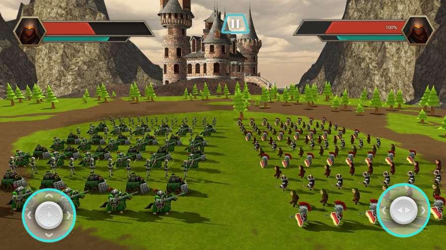 真正的战斗模拟器游戏:史诗战争策略截图5