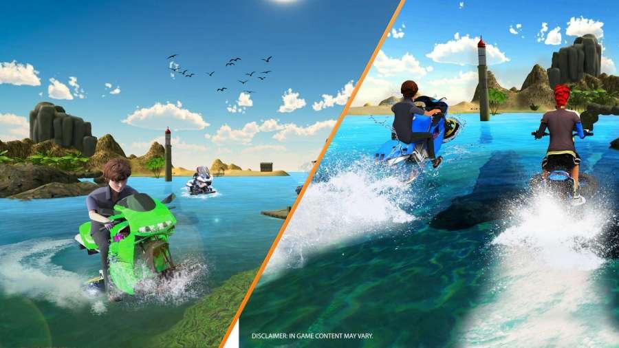 水冲浪飞机Jetski摩托车截图0