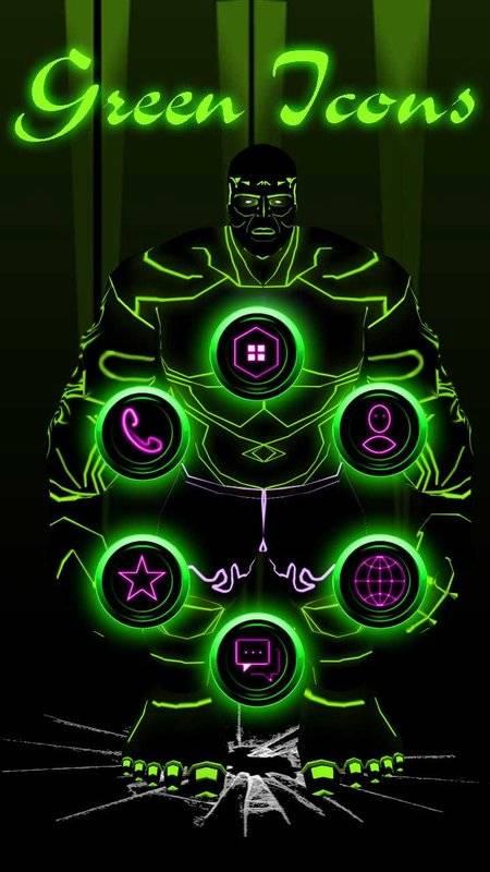 綠色巨人英雄3D主題