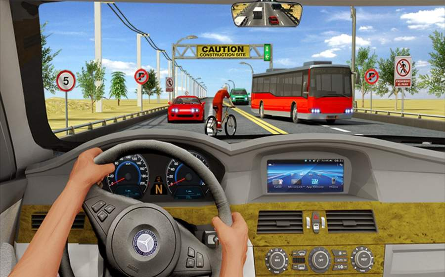 交通高速公路赛车手 - 车手