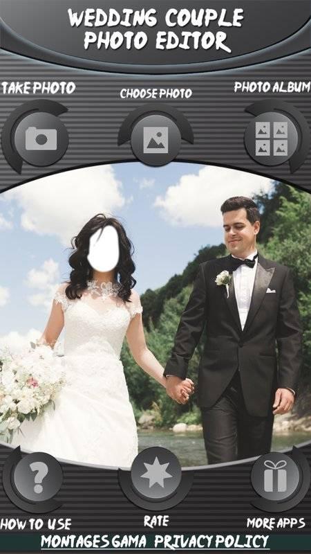 婚礼情侣照片编辑截图1